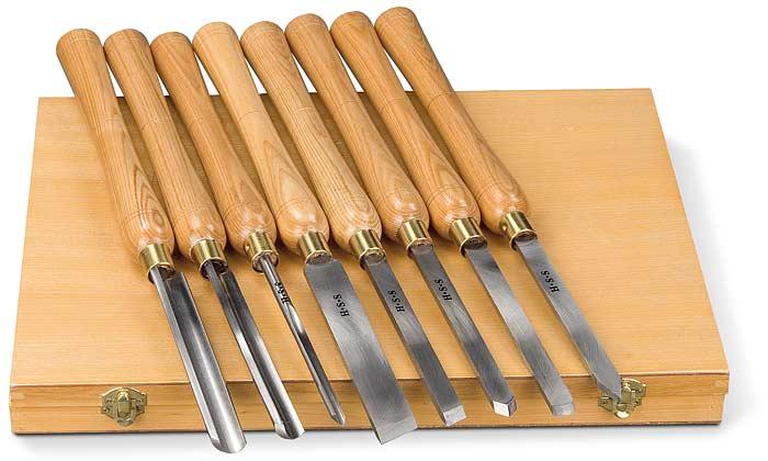 Příslušenství pro soustruhy na dřevo