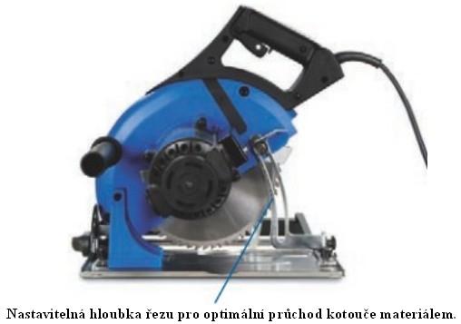 Metallkraft HKS 230 ruční kotoučová pila na kov