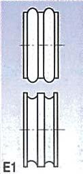 Metallkraft Rolny typ E1 (pro SBM 140-12 a 140-12 E)