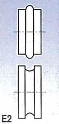 Metallkraft Rolny typ E2 (pro SBM 140-12 a 140-12 E)