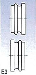 Metallkraft Rolny typ E3 (pro SBM 140-12 a 140-12 E)