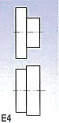 Metallkraft Rolny typ E4 (pro SBM 140-12 a 140-12 E)