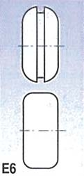 Metallkraft Rolny typ E6 (pro SBM 140-12 a 140-12 E)