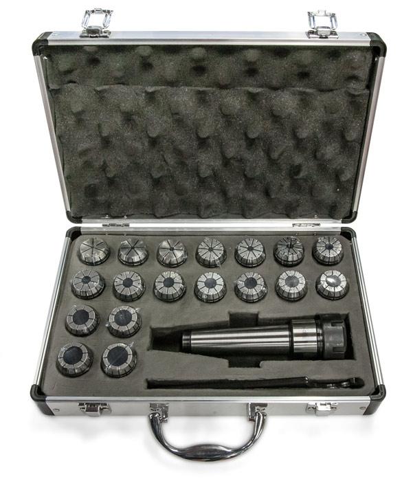 OPTIMUM 3352053 Sada upínače MK2/M10/ER32 a kleštin 3-20 mm (15 ks)