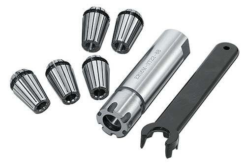 Metallkraft Sada kleštin 3-7 mm/5ks + adaptér (GS21, GS34) - 8309004
