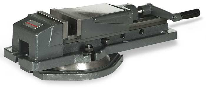 Hydraulické strojní svěráky