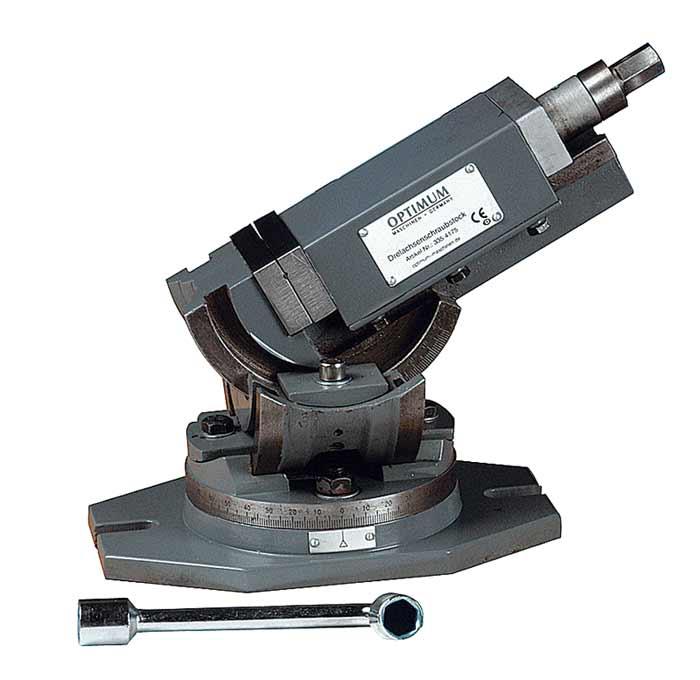 Optimum MV3-75 trojosý otočný svěrák