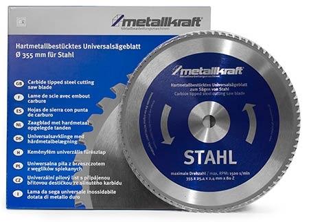 Metallkraft 3853504 pilový kotouč na ocel 355 mm