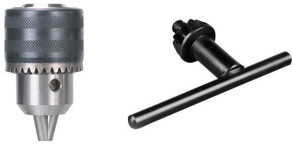 Metallkraft Sklíčidlo 1,5 – 13 mm a klíč - 3876002