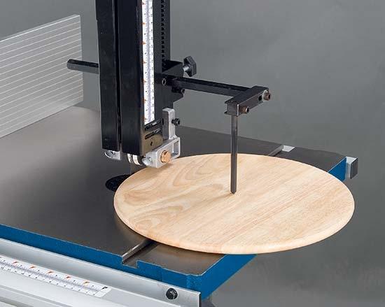Holzkraft®Přípravek pro vyřezávání kruhů (pro HBS 351, 431, 433, 533)