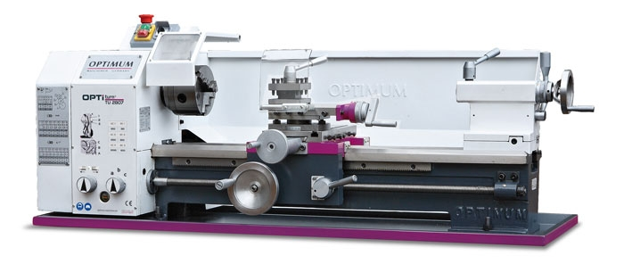 OPTIMUMStolní soustruh OPTIturn TU 2807 (400 V)