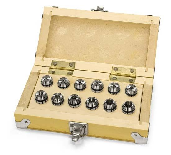 Optimum kleštiny ER16, 12 ks, 1 - 10 mm - 3440282