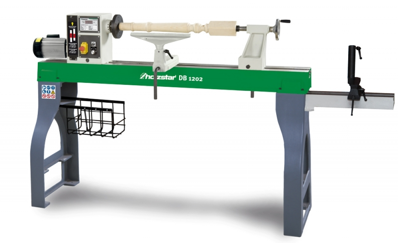 Holzstar®Soustruh na dřevo DB 1202