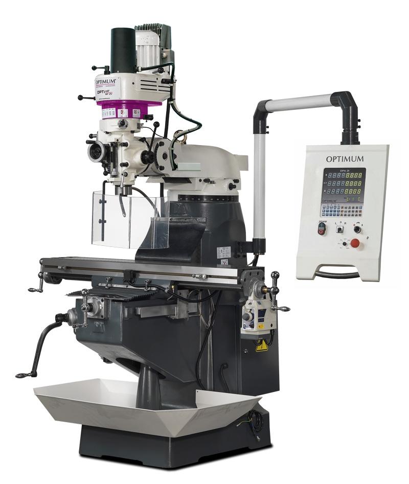 OPTIMUMUniverzální frézka OPTImill MF 2 V