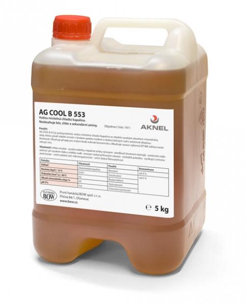 Chladiaca kvapalina AG FRIGUO  B 553, 5 kg
