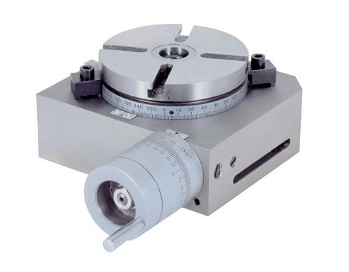 GreenLine 71010094 otočný stůl, pr. 100 mm pro frézky/vrtačky