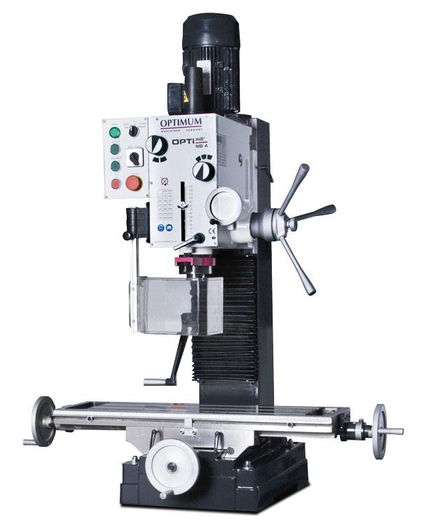 Optimum OPTImill MB 4 převodová vrtačko-frézka