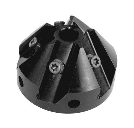 Metallkraft 3991103 Frézovací hlava 37,5° KE 10