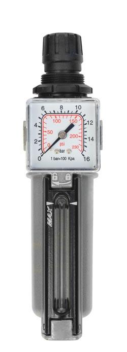 "Aircraft Regulátor tlaku s filtrem 1/4"", 14 bar - 2314000"