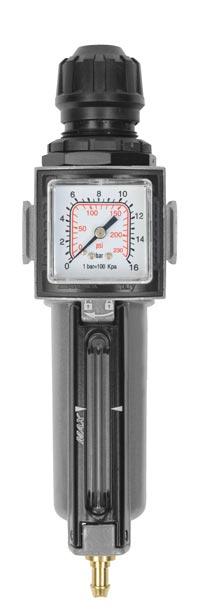 "Aircraft Regulátor tlaku s filtrem 1/2"", 14 bar - 2314200"