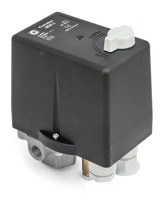 CONDOR MDR 3/11 (MDR 3/16) tlakový spínač 11 bar/4-6,3 A - 210303