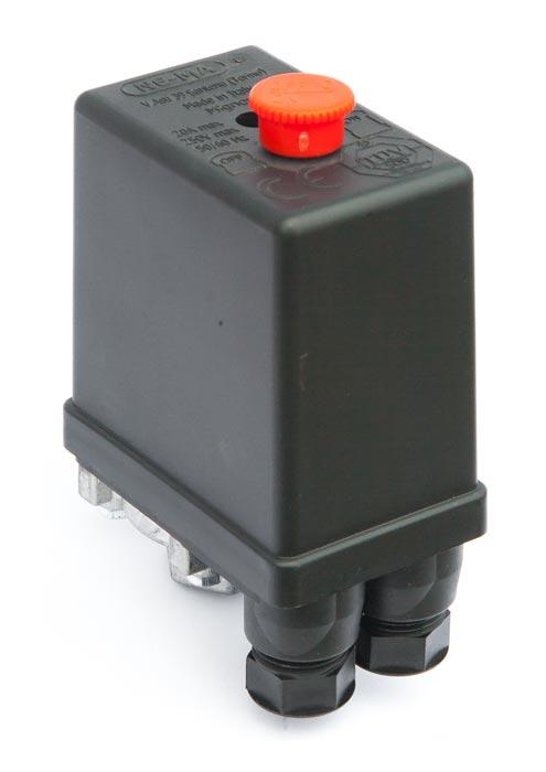 """Tlakový spínač NEMA 230V/ 12bar (1x1/4"""") - 220201"""
