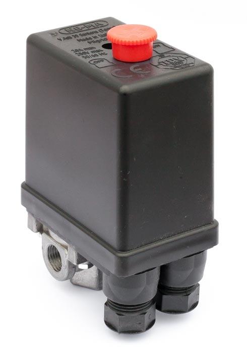 """Tlakový spínač NEMA 230V/ 12bar (4x1/4"""") - 220204"""