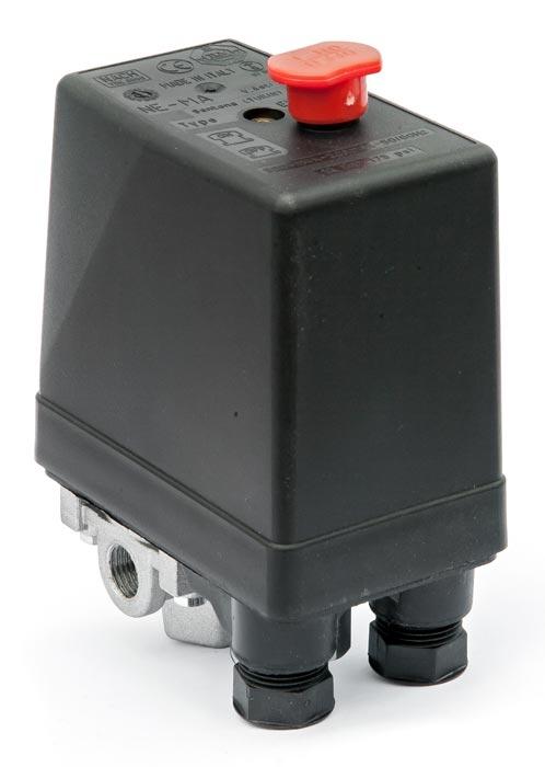 """Tlakový spínač NEMA 400V/ 12bar (4x1/4"""") - 220404"""