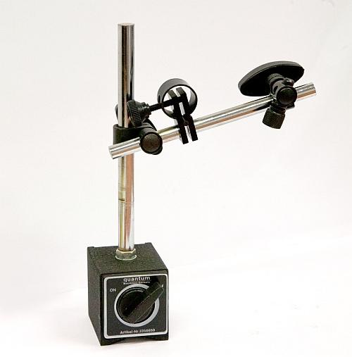 Optimum 3356650 přesný magnetický měřící stojan