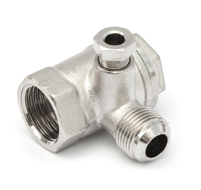 """Aircraft Zpětný ventil 1/2"""" IG x 3/8"""" AG"""