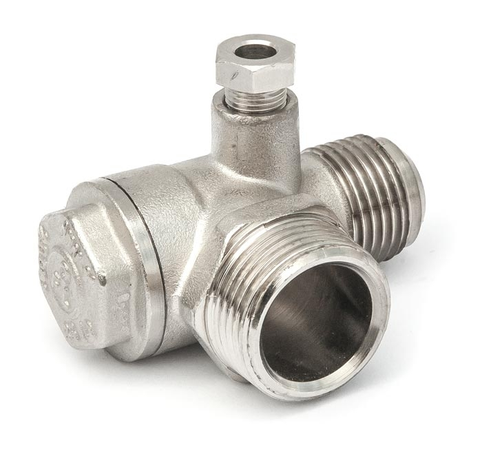 "Aircraft Zpětný ventil 3/4"" AG x 1/2"" AG"