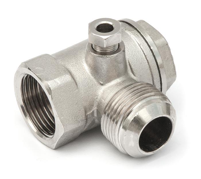 """Aircraft Zpětný ventil 3/4"""" IG x 3/4"""" AG"""