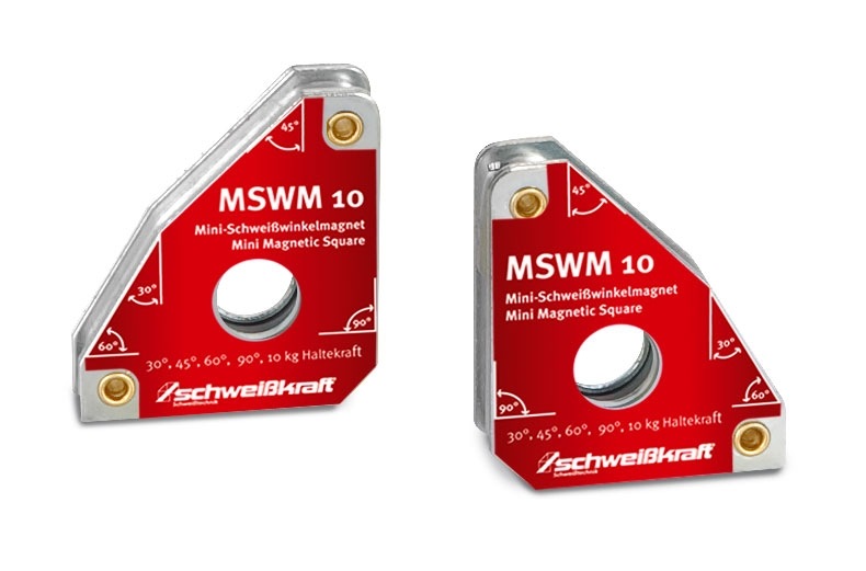 Schweißkraft®Permanentní svařovací úhlový magnet MSWM 10