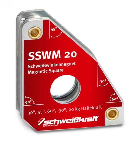 Schweißkraft Permanentní svařovací úhlový magnet SSWM 20