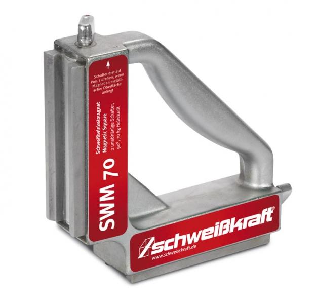 Schweißkraft®Vypínatelný svařovací úhlový magnet SWM 70