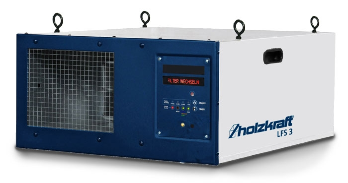 Holzkraft®Inteligentní filtrační systém okolního vzduchu LFS 3