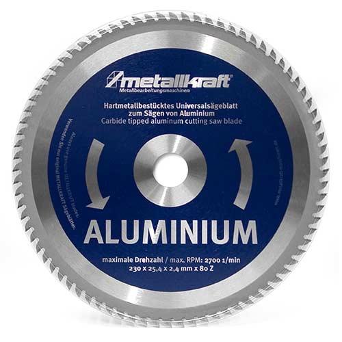 Metallkraft 3850232 pilový kotouč na hliník 230 mm