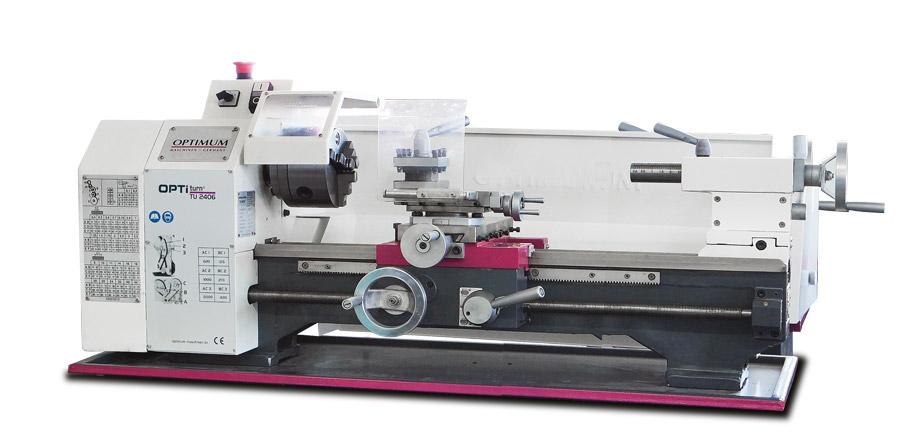 Optimum OPTIturn TU 2406 (400 V) stolní soustruh - 3420353