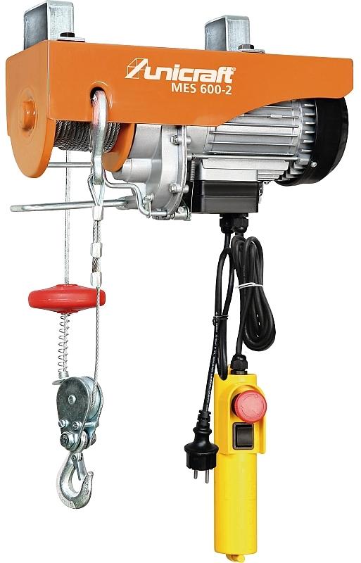 Unicraft MES 600-2 Elektrický lanový kladkostroj - 6198260