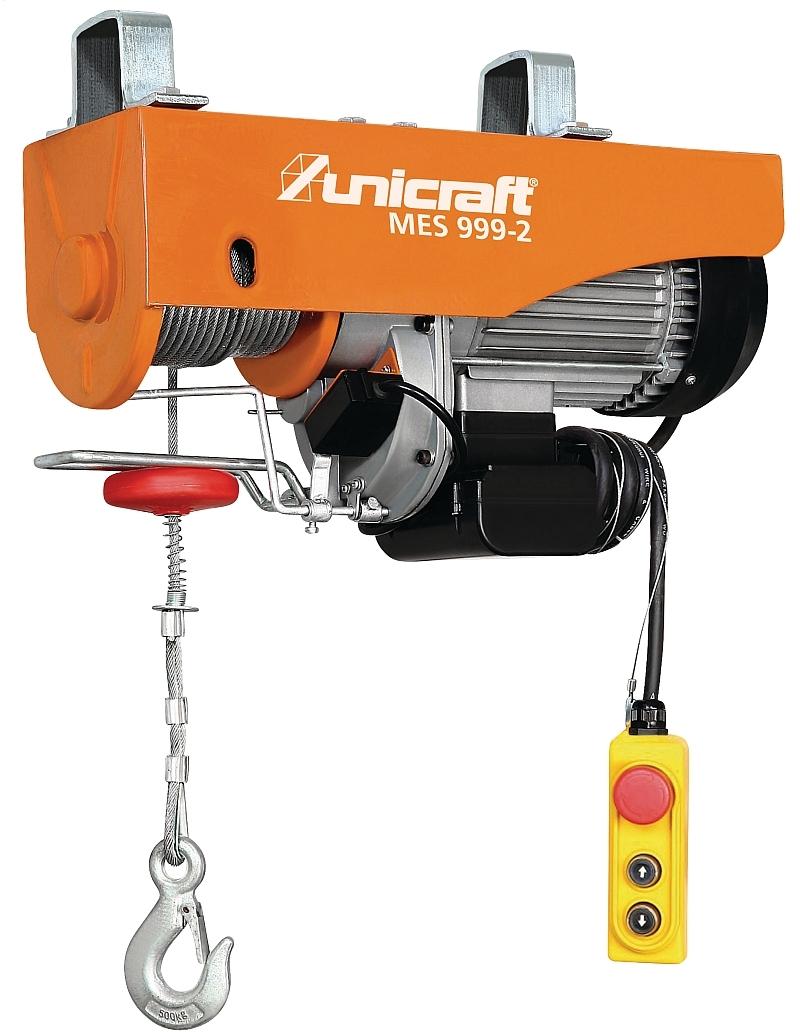 Unicraft MES 999-2 Elektrický lanový kladkostroj - 6198299