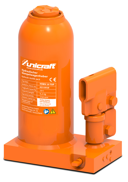 Unicraft HSWH 10 TOP Hydraulický zvedák - 6211010