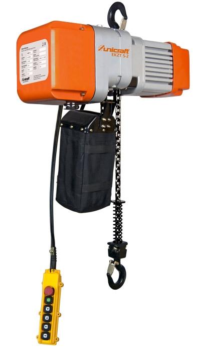 Unicraft EKZT 10-1 Elektrický řetězový kladkostroj - 6194010