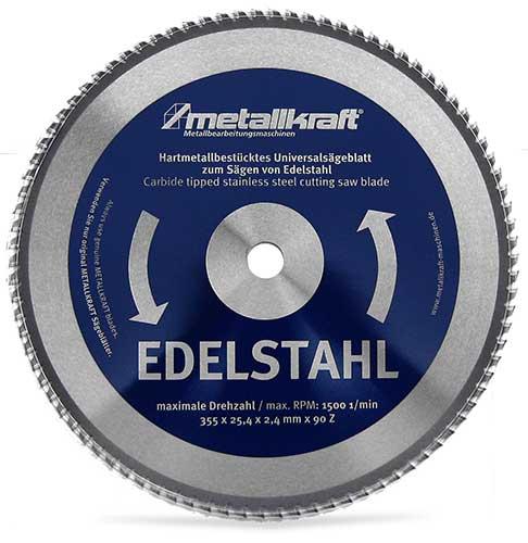 Metallkraft 3853503 pilový kotouč na ušlechtilou ocel 355 mm
