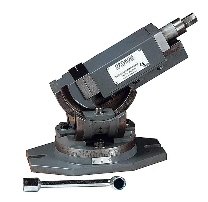 Optimum MV3-125 trojosý otočný svěrák