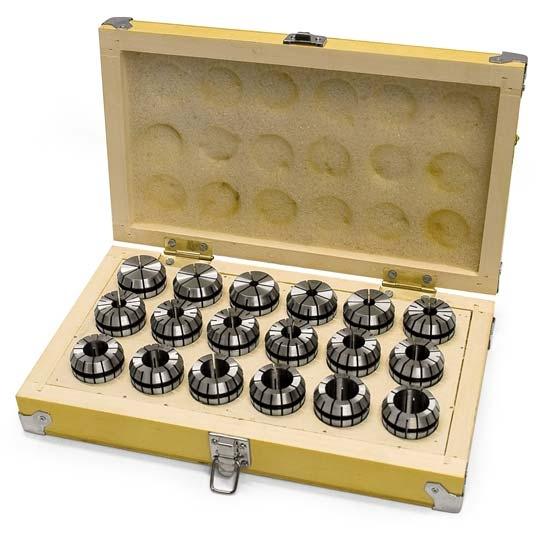 OPTIMUM Kleštiny ER32, 3 – 20 mm, 18 ks - 3441122