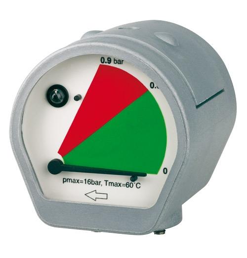 Aircraft Manometr rozdílu tlaku MDM 60 E s LED alarmem - 2053064