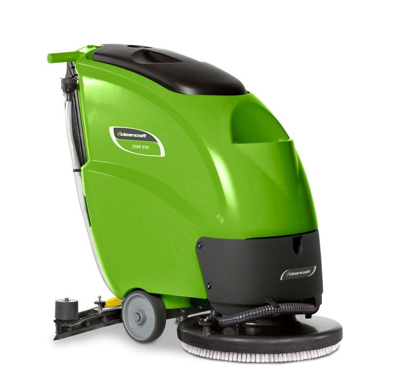 Cleancraft SSM 550 Podlahový mycí stroj poloautomatickým pohonem