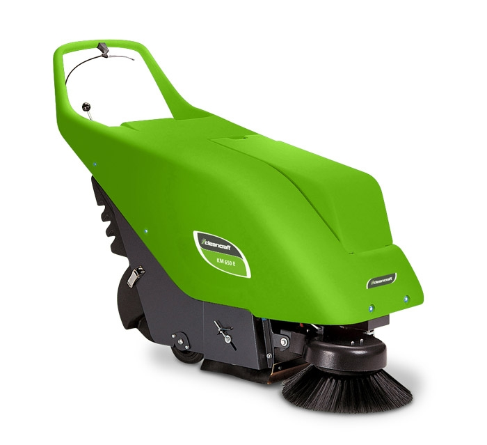 Cleancraft KM 650 E tichý zametací stroj s automatickým pojezdem