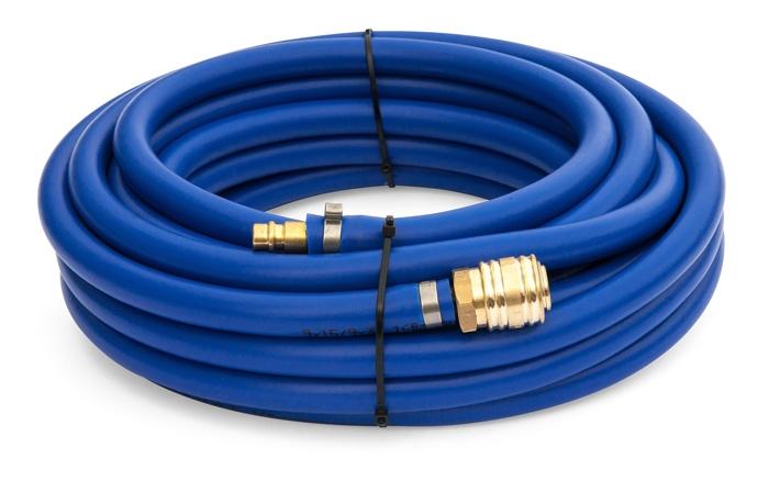 Tlaková PVC hadice BLUE 10 m, ø 6/12 mm, s rychlospojkou - 210182