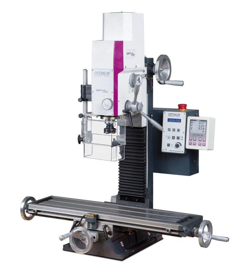 OPTIMUM OPTImill MH 22 VD Stabilní vrtačko - frézka
